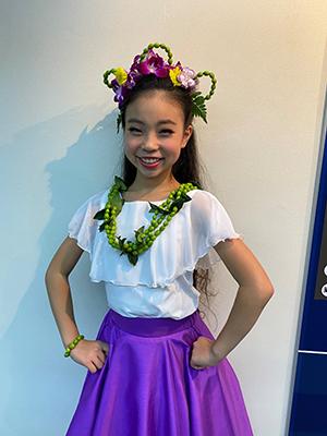 相島未祈さんKALANI YURI HULA TAHITIAN DANCE STUDIO
