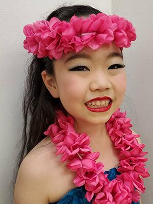 石井みのりさんAloha Beauty Hula Studio/Ora No Te Aroha
